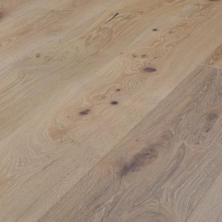 Wallmann Wood Line Herregårdsplank Eg Børstet Hvid matlak, Rustik