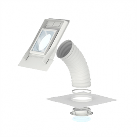 Velux lystunnel til skråt tag - TLF 2010 - Fleksibelt rør