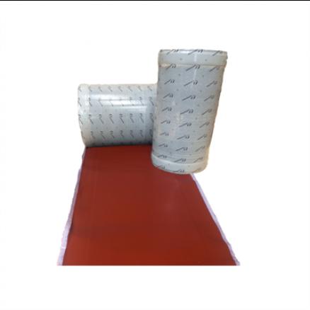 Inddækning Wakaflex Teglrød 28 cm x 5 m til inddækning. Køb billige byggematerialer hos Netbyggemarked.dk