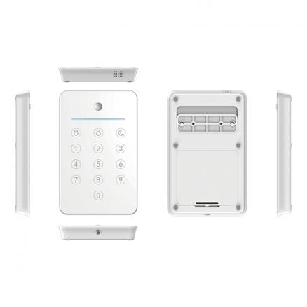 SikkertHjem S6evo SmartPad med nøglebriklæser fra Netbyggemarked.dk