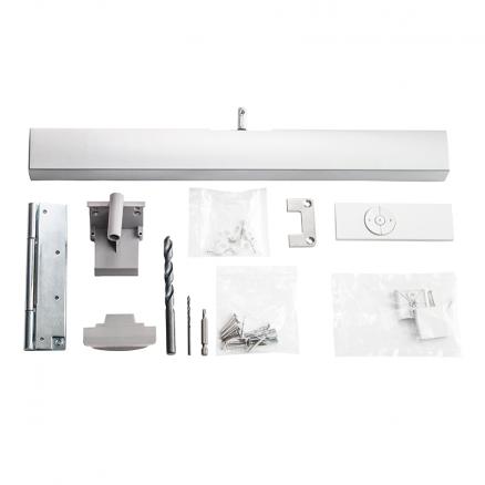 Elektrisk vinduesåbner til Axis ovenlysvinduer indhold