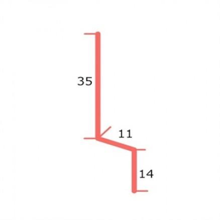 Pladesamling/Z-profil 11 mm. Køb billige aluprofiler hos Netbyggemarked.dk