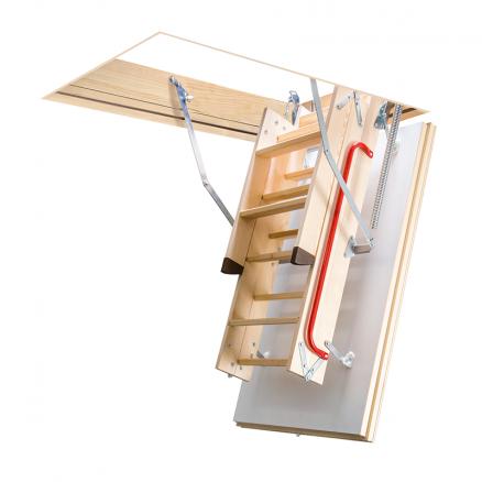 FAKRO LTK Energy lofttrappe foldbar 3 segmenter