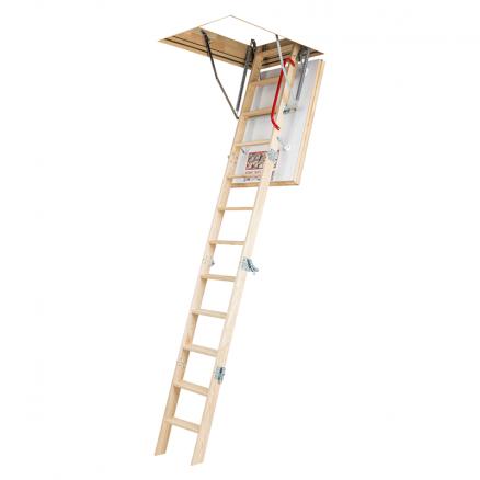 FAKRO LTK Energy lofttrappe 4 segmenter