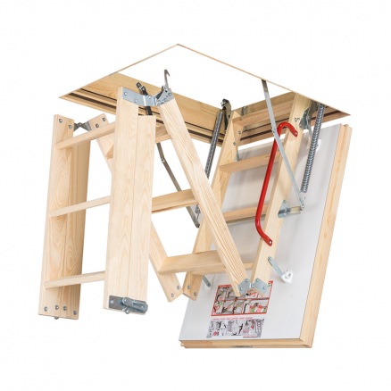 FAKRO LTK Energy lofttrappe foldbar 4 segmenter