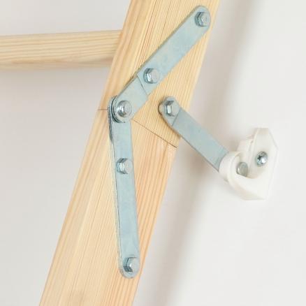 FAKRO LWK Komfort lofttrappe 3 segmenter click system