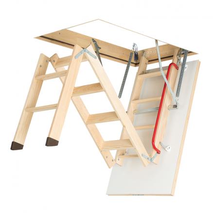 FAKRO LWK Komfort lofttrappe 3 segmenter foldbar
