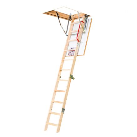 FAKRO LWK Komfort lofttrappe 4 segmenter