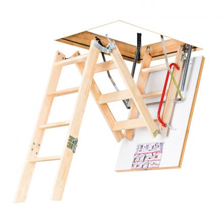 FAKRO LWK Komfort lofttrappe 4 segmenter foldbar