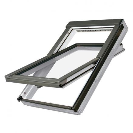 billigt ovenlys vindue, hvor der ikke er gået på kompromis med kvaliteten. Køb FAKRO Vippevindue FTW-V U3 her.