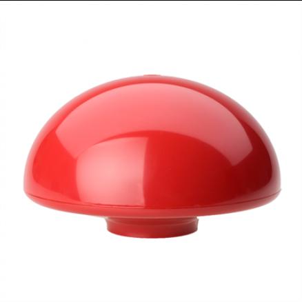 Dano Mast flagknop rød plast til glasfiber flagstang