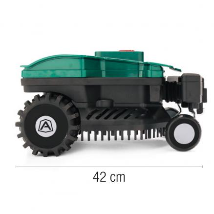 Ambrogio L15 Deluxe -Størrelse