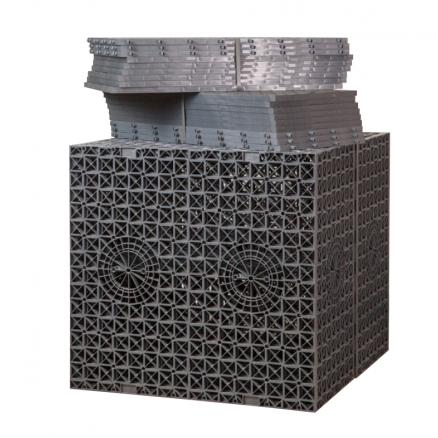NB faskine - Aquablok - til dræning af regnvand. Køb alt til hus og have hos Netbyggemarked
