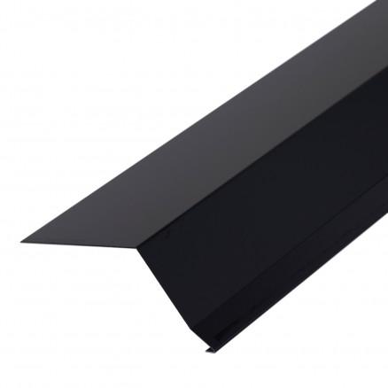 Tagfod 80 mm i sort