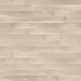 Wallmann Lamelplank Eg Plank Gentle, Børstet hvid matlak