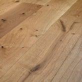Wallmann Wood Line Herregårdsplank Eg Børstet naturolie, Rustik