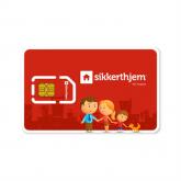 SikkertHjem SMS-kort (12 mdr.) - DK