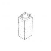 Dano Mast betonfundament til flagstang m. vippebeslag