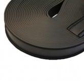 EPDM-bånd 36 mm x 20 m til tætning af facadaplanker og plader.