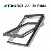 FAKRO vippevindue 78x140cm FTW-V U3E PAKKETILBUD
