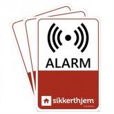 Undgå indbrud med de præventive vinduesmærkater fra SikkertHjem